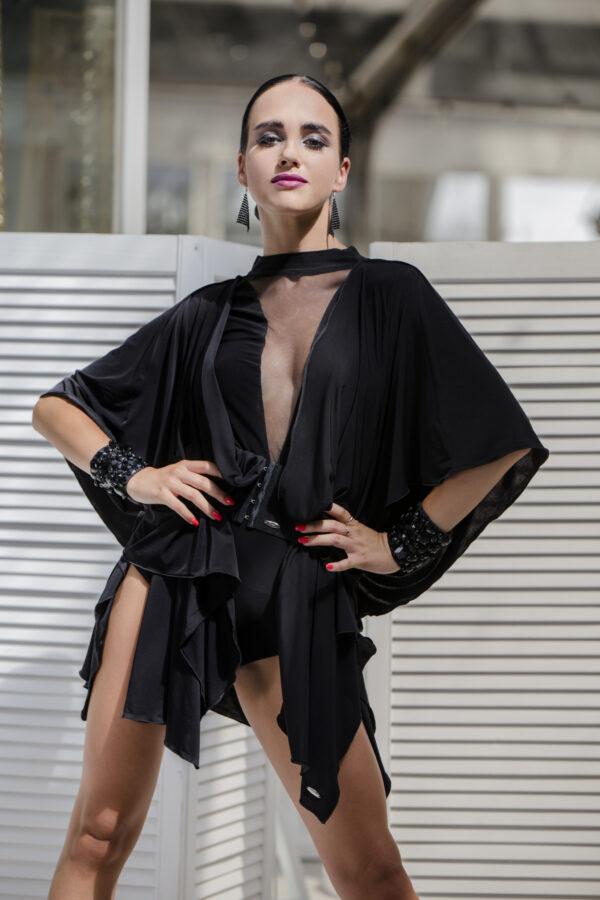 czarna tunika